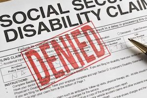 Denied SSI/SSDI Claim