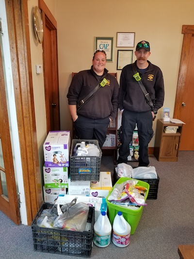Ford County EMS Donation